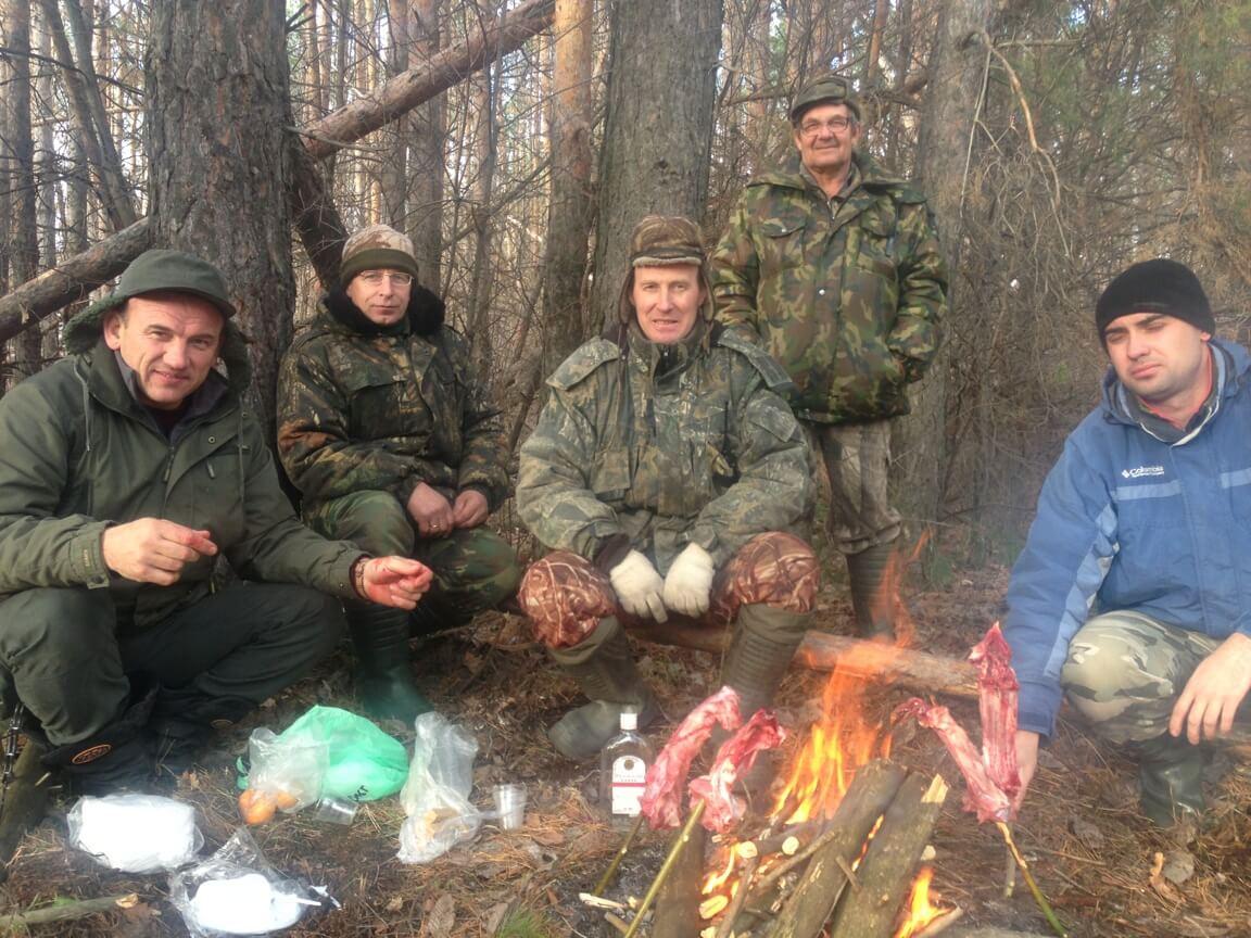 привал охота и рыбалка